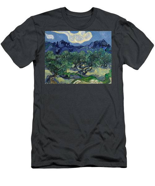 The Olive Trees Men's T-Shirt (Athletic Fit)