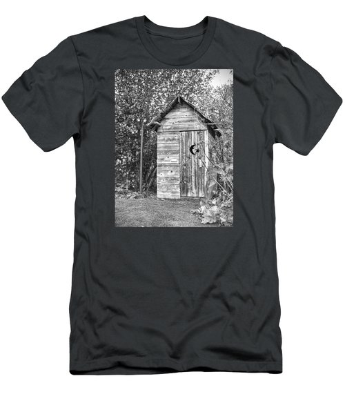 The Outhouse Bw Men's T-Shirt (Athletic Fit)