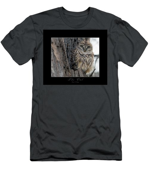 The Owl Men's T-Shirt (Athletic Fit)