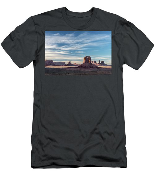 Men's T-Shirt (Slim Fit) featuring the photograph The Past by Jon Glaser