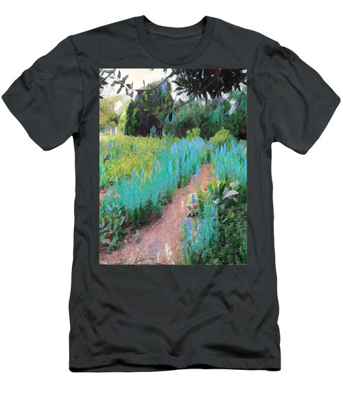 The Path Less Traveled Men's T-Shirt (Athletic Fit)