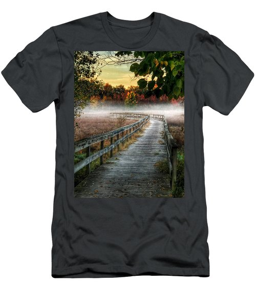 The Peaceful Path Men's T-Shirt (Athletic Fit)