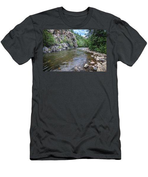 The Pecos River Men's T-Shirt (Athletic Fit)