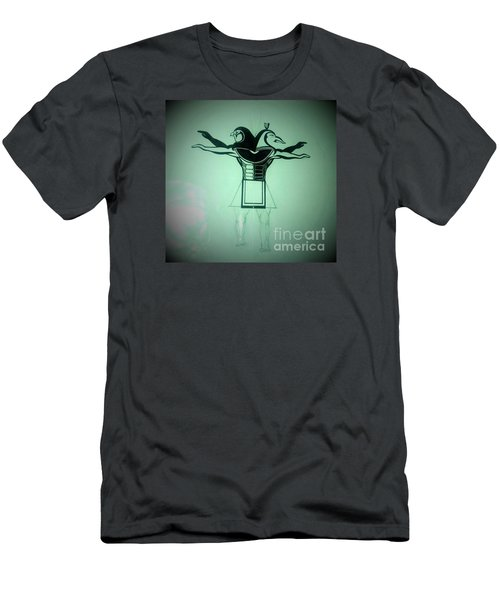 The Perfect Circling Of Your Square Men's T-Shirt (Slim Fit) by Talisa Hartley