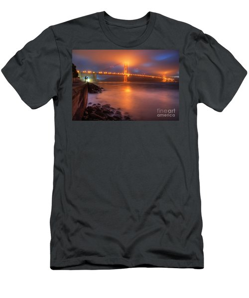 Men's T-Shirt (Slim Fit) featuring the photograph The Place Where Romance Starts by William Lee