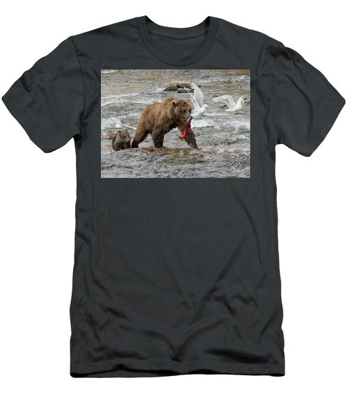 The Plight Of The Sockeye Men's T-Shirt (Athletic Fit)