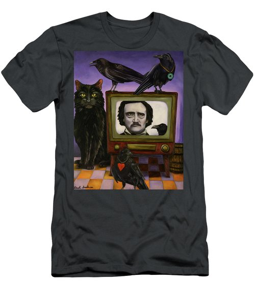 The Poe Show Men's T-Shirt (Slim Fit) by Leah Saulnier The Painting Maniac