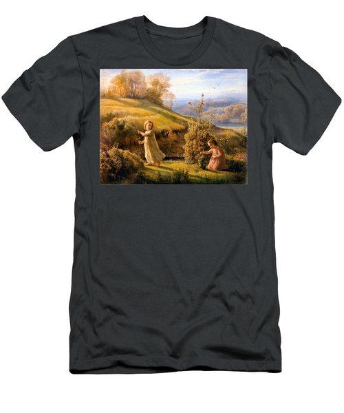 The Poem Of The Soul Spring Anne Francois Louis Janmot 1854. Men's T-Shirt (Athletic Fit)