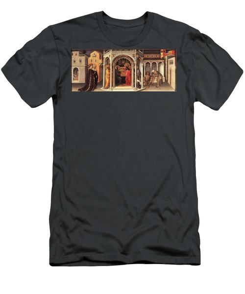 The Presentation In The Temple Men's T-Shirt (Slim Fit) by MotionAge Designs