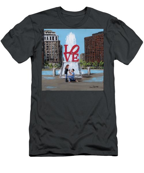 The Proposal Men's T-Shirt (Slim Fit) by Jack Skinner