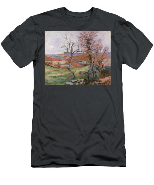 The Puy Barion At Crozant Men's T-Shirt (Athletic Fit)