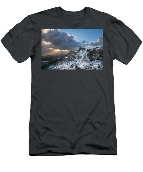 The Quiraing Just After Dawn Men's T-Shirt (Athletic Fit)