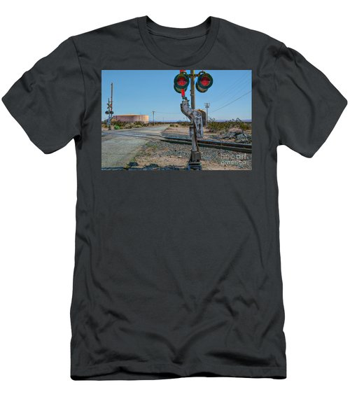 The Railway Crossing Men's T-Shirt (Athletic Fit)