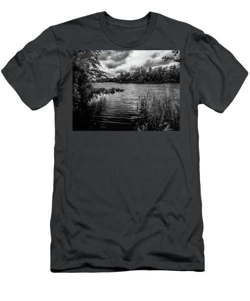 The Rancocas River Landscape Men's T-Shirt (Athletic Fit)