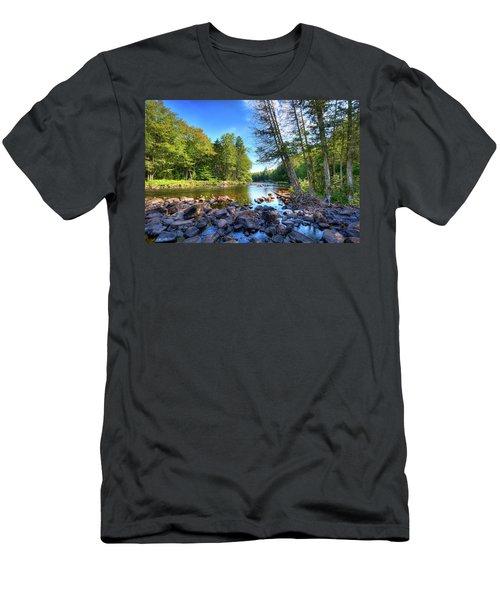 The Raquette River Men's T-Shirt (Athletic Fit)