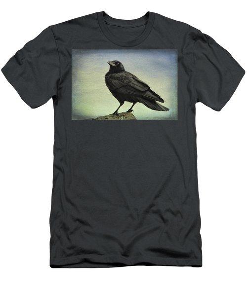 The Raven - 365-9 Men's T-Shirt (Slim Fit) by Inge Riis McDonald