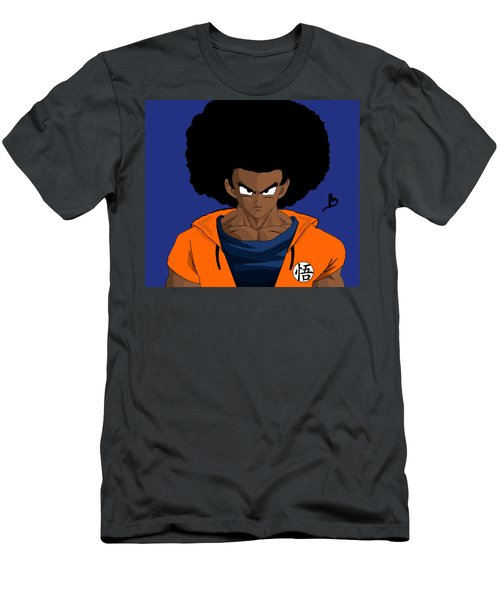 The Real Black Goku  Men's T-Shirt (Athletic Fit)