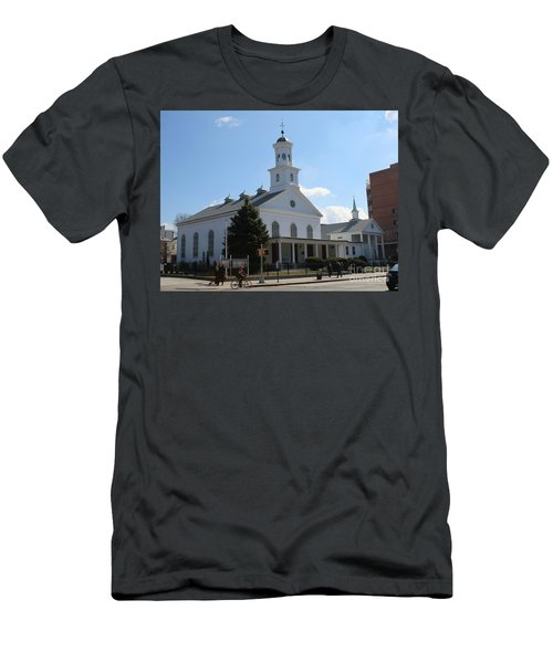 The Reformed Church Of Newtown- Men's T-Shirt (Athletic Fit)