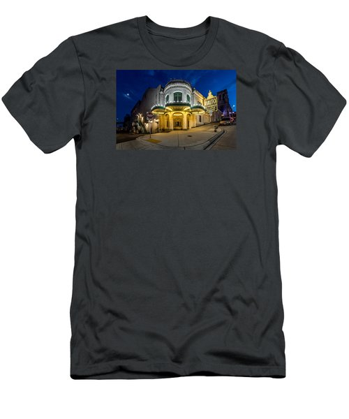 Men's T-Shirt (Slim Fit) featuring the photograph The Rialto Theater - Historic Landmark by Rob Green