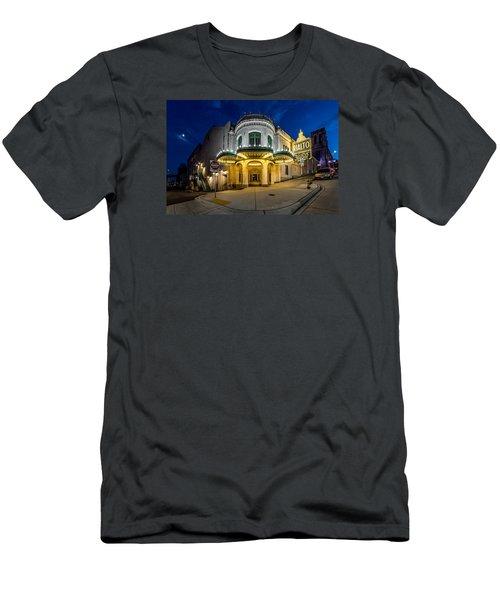 The Rialto Theater - Historic Landmark Men's T-Shirt (Slim Fit) by Rob Green