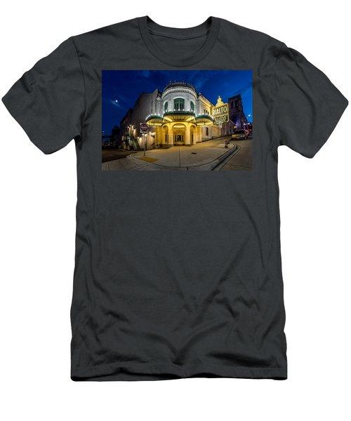 The Rialto Theater - Historic Landmark Men's T-Shirt (Athletic Fit)