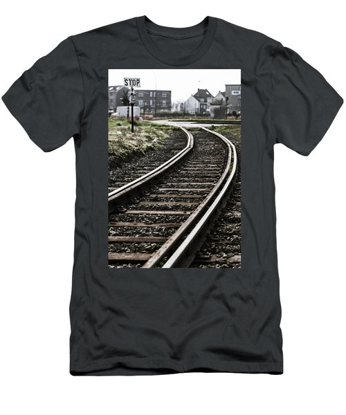 The Right Track? Men's T-Shirt (Athletic Fit)