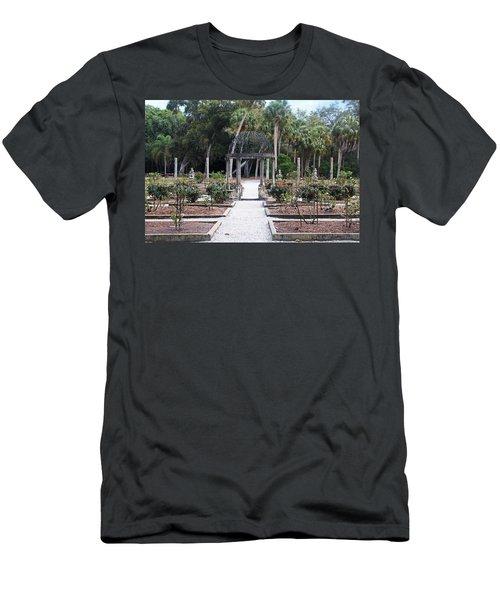 The Ringling Rose Garden Men's T-Shirt (Athletic Fit)