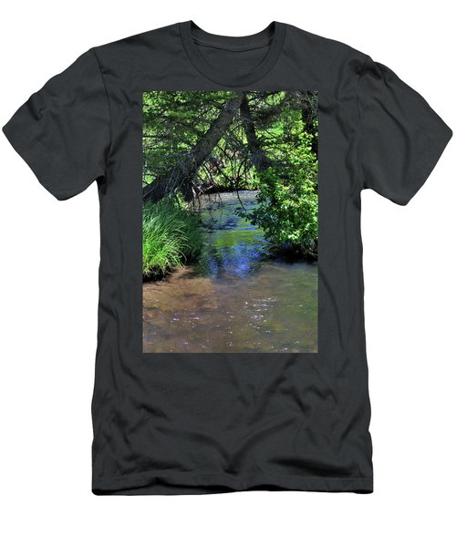 Men's T-Shirt (Athletic Fit) featuring the photograph The Rio Chiquito by Ron Cline