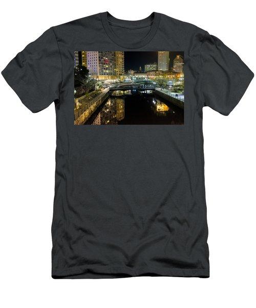 The River Walk Men's T-Shirt (Athletic Fit)