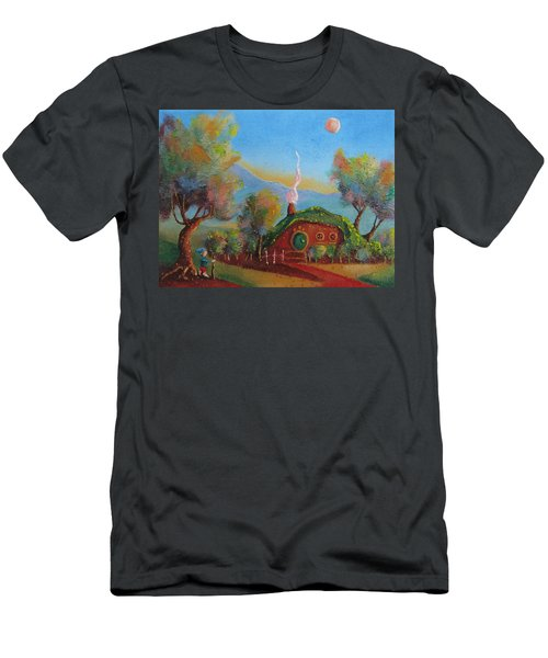 The Road Goes Ever On. Men's T-Shirt (Slim Fit) by Joe  Gilronan
