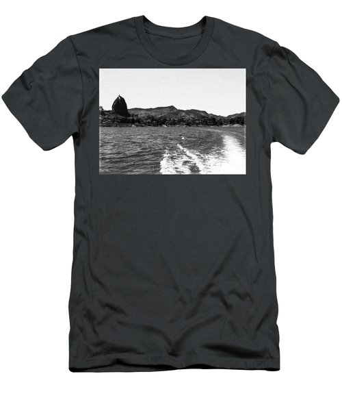 The Rock Of Guatape Men's T-Shirt (Athletic Fit)