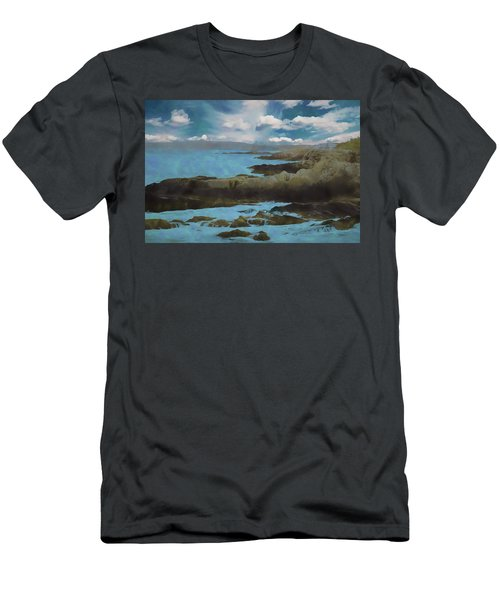 The Rocky Maine Coast. Men's T-Shirt (Athletic Fit)