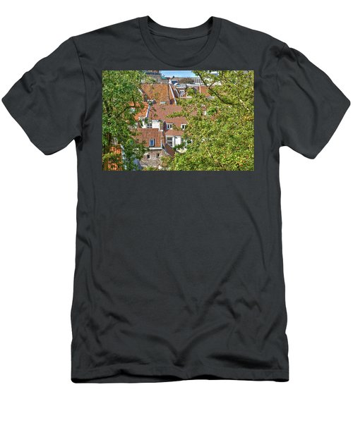 The Rooftops Of Leiden Men's T-Shirt (Athletic Fit)