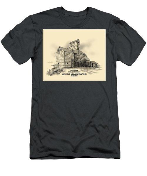 The Ross Elevator Version 2 Men's T-Shirt (Slim Fit) by Scott Ross