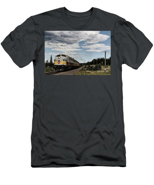 The Royal Canadian Pacific  Men's T-Shirt (Athletic Fit)