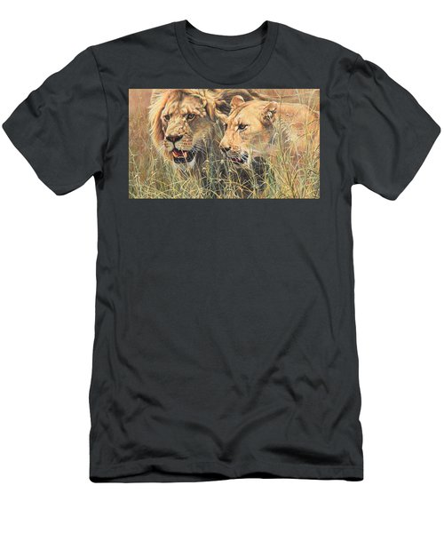 The Royal Couple II Men's T-Shirt (Athletic Fit)