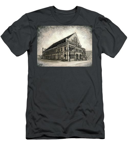 Men's T-Shirt (Slim Fit) featuring the painting The Ryman by Janet King