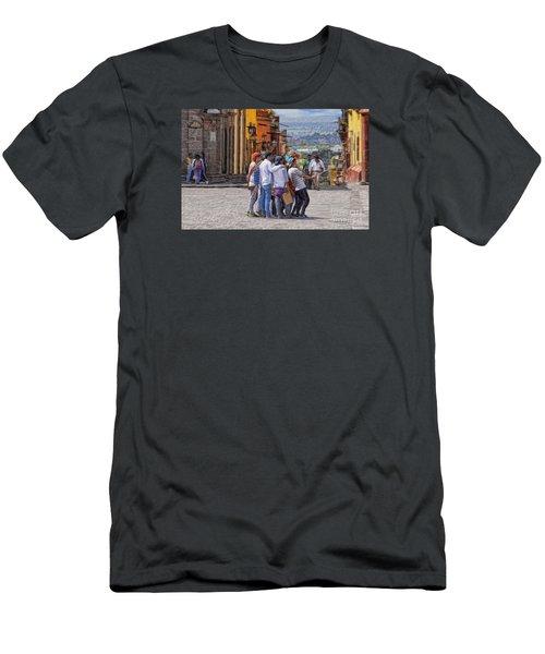 The San Miguel Selfie Men's T-Shirt (Slim Fit) by John  Kolenberg