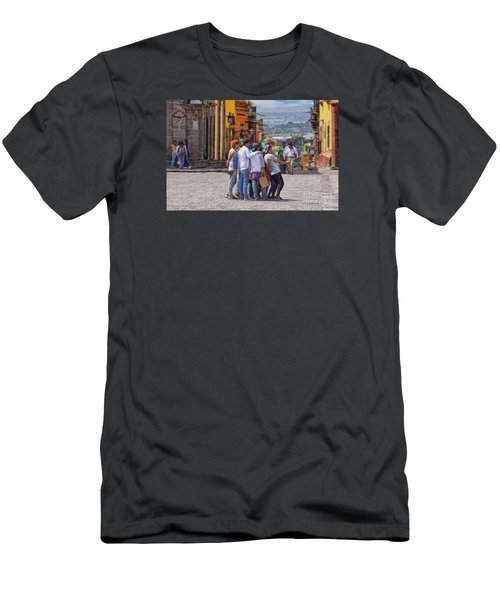 The San Miguel Selfie Men's T-Shirt (Athletic Fit)