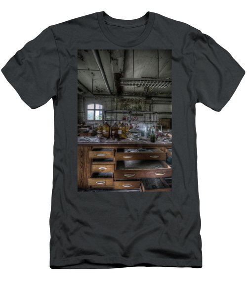 Men's T-Shirt (Slim Fit) featuring the digital art The Science  by Nathan Wright