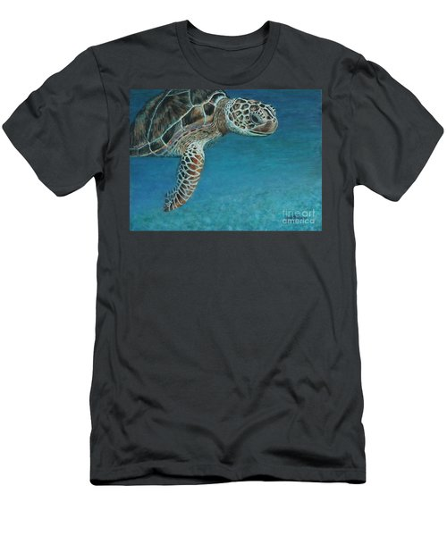 The Giant Sea Turtle Men's T-Shirt (Athletic Fit)