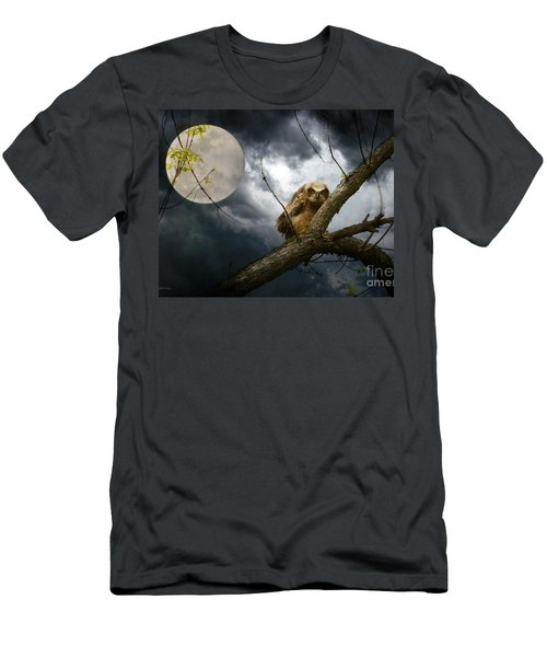 The Seer Of Souls Men's T-Shirt (Slim Fit) by Heather King
