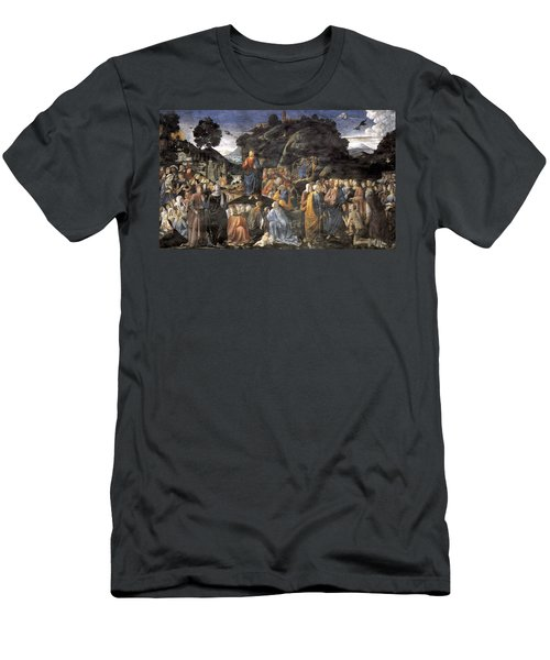 The Sermon On The Mount Men's T-Shirt (Athletic Fit)