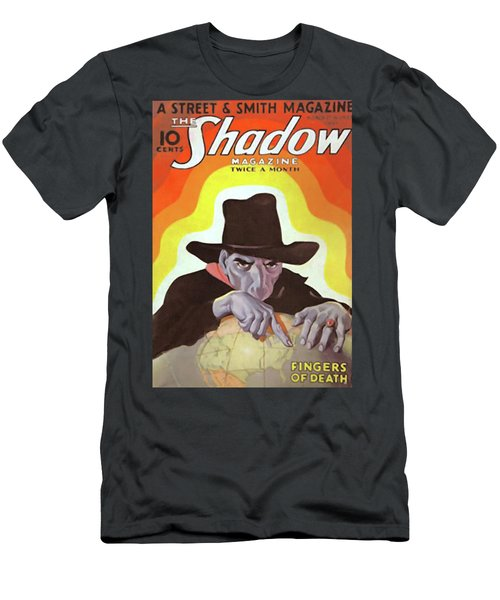 The Shadow Fingers Of Death Men's T-Shirt (Athletic Fit)