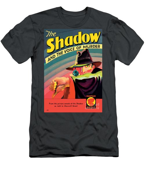 Men's T-Shirt (Slim Fit) featuring the painting The Shadow by George Rozen