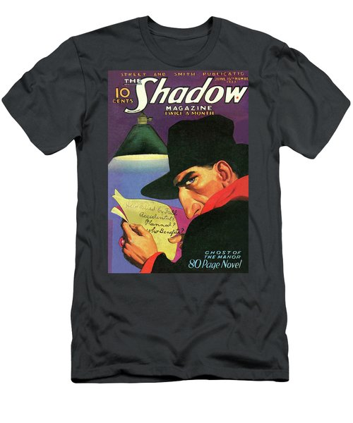 The Shadow Ghost Of The Manor Men's T-Shirt (Athletic Fit)