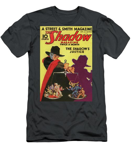 The Shadow The Shadows Justice Men's T-Shirt (Athletic Fit)