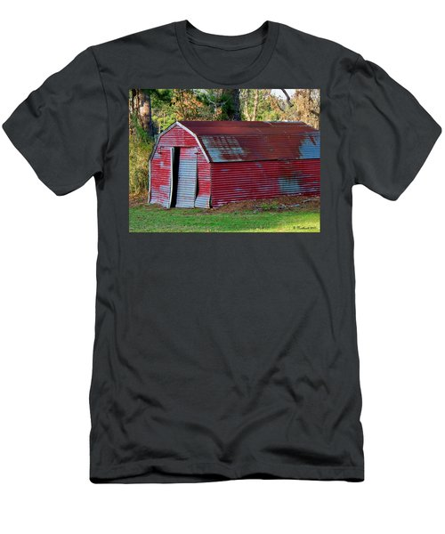 The Shed Men's T-Shirt (Slim Fit) by Betty Northcutt