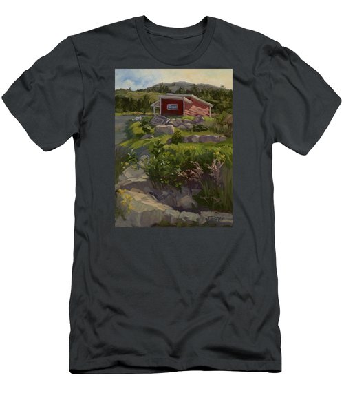 The Shed Men's T-Shirt (Slim Fit) by Jane Thorpe