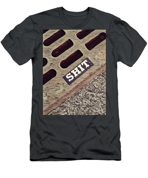 The Shit You See In New York City Men's T-Shirt (Athletic Fit)